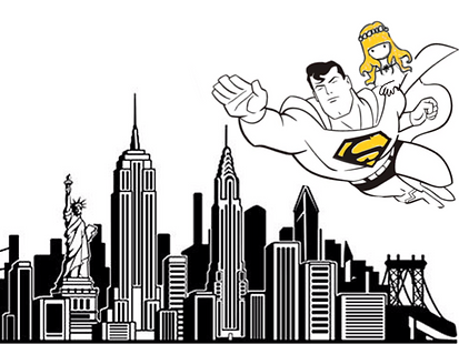 5 Lucile in the sky with Superman.png