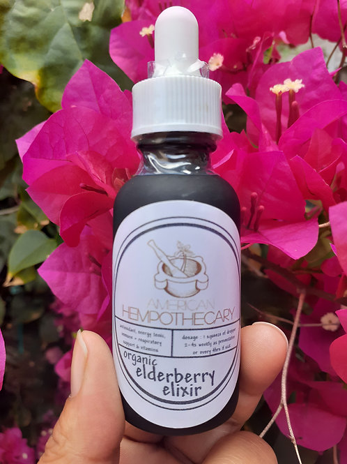 Elderberry Elixir Extract