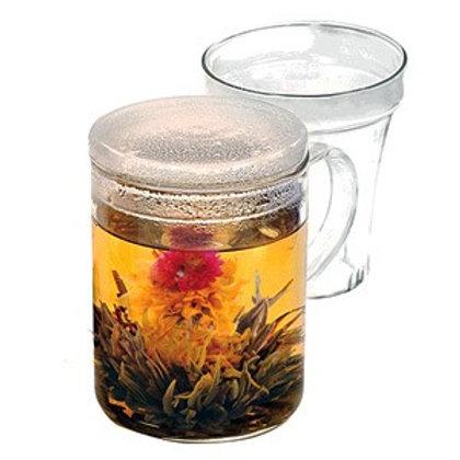Glass Tea Maker Mug Infuser