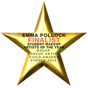 Emma Pollock Finalist Student Makeup Artist of the Year 2019
