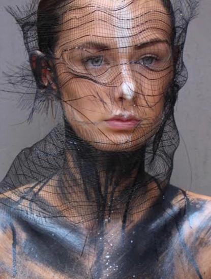 The Makeup Technicians Student Work - BODY PAINT MESH
