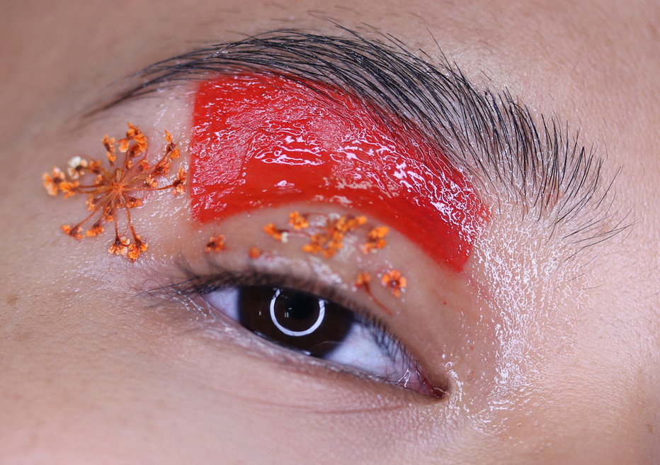 The Makeup Technicians Student Work - FLOWERS