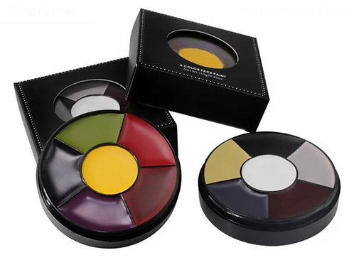 TMT 6 Colour Bruise Wheel