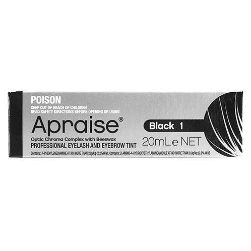 Apraise Professional Eyelash and Eyebrow Tint - Black