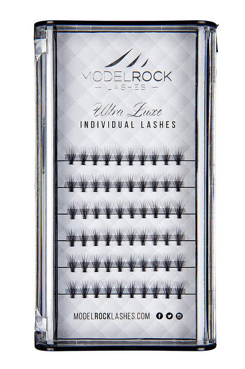 """ModelRock Lashes - """"Ultra Luxe Individual 8mm Short"""""""