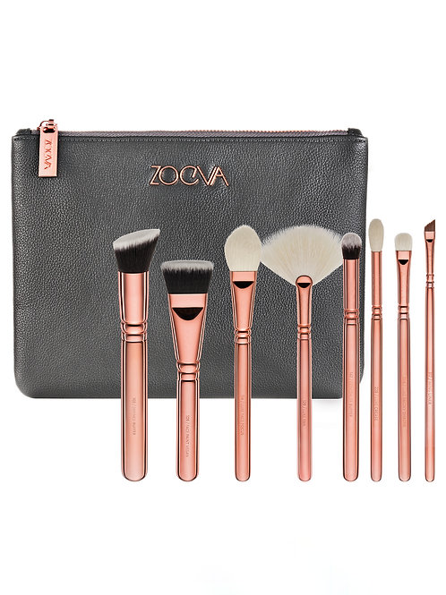 ZOE VA Rose Golden Brush Set