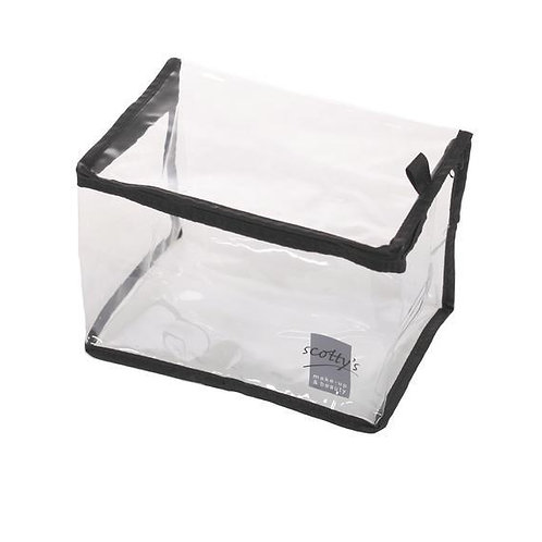 Small Clear Rectangular/Cube Bag