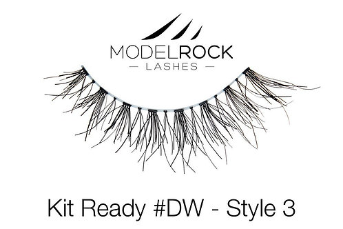ModelRock Lashes - #DW- Style 3