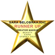 Sara Belobraajdic Runner Up Creative Makeup Beauty Expo 2018