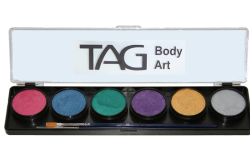 TAG PASTEL COLOUR PALETTE #6X10G