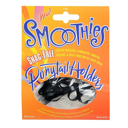 Smoothies Snag-Free Ponytail holders