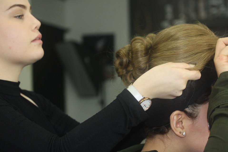 The Makeup Technicians Student Work - WIG WORK