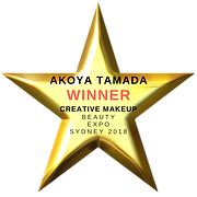 Akoy Tamada Winner Creative Makeup Beauty Expo 2018