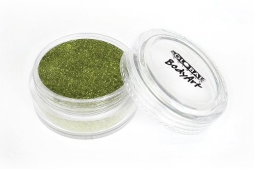 Global Colours Glitter - Lime Green