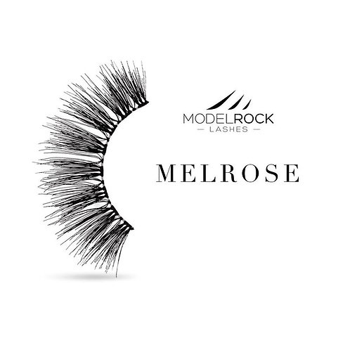 "Model Rock Lashes - ""Melrose"" Double Layered Lashes"