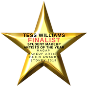 Tess Williams Finalist Student Makeup Artist of the Year 2019