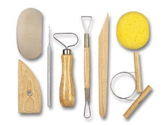 Clay Modelling Tools - 8pcs