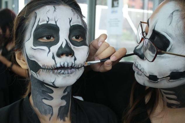 The Makeup Technicians Student Work - Skulls