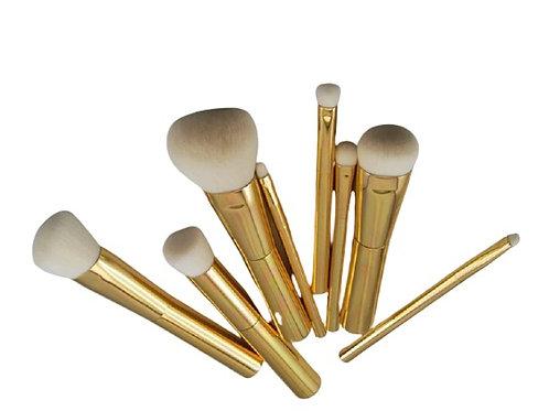 TMT 8 Piece Gold Brush Set
