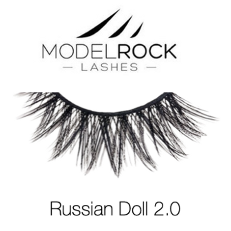 """Model Rock Lashes - """"Russian Doll 2.0"""" double layered lashes"""