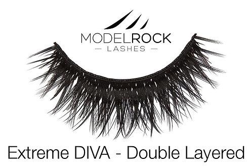 ModelRock Lashes - Extreme DIVA - Double Layered Lashes