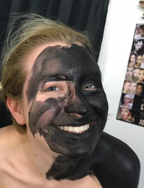 The Makeup Technicians Student Work - BODYPAINT WASH ME UP