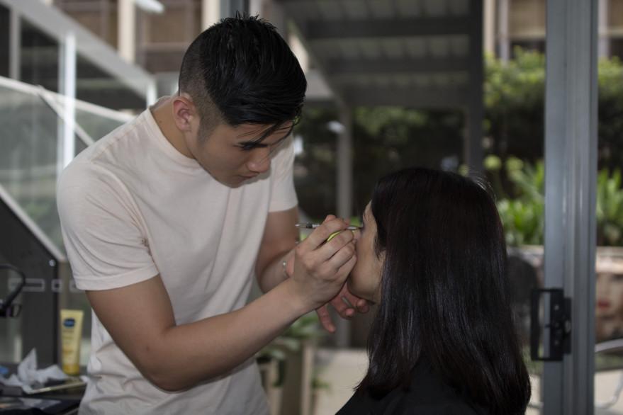 The Makeup Technicians Student Work - CONCENTRATION