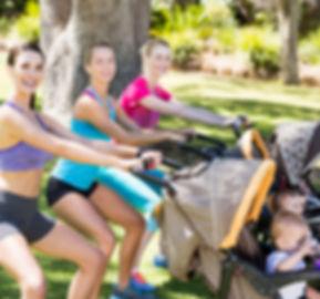 Cours Pilates poussette
