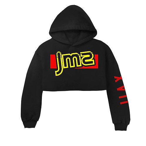 JMS V1 WOMEN'S CROP TOP HOODIE