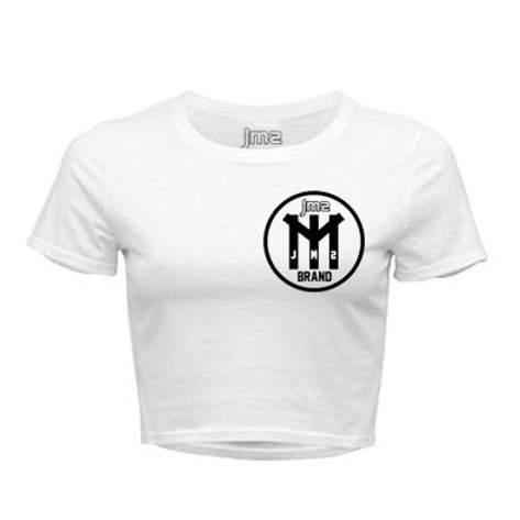 THE M IN JMS WOMEN'S CROP TOP TEE