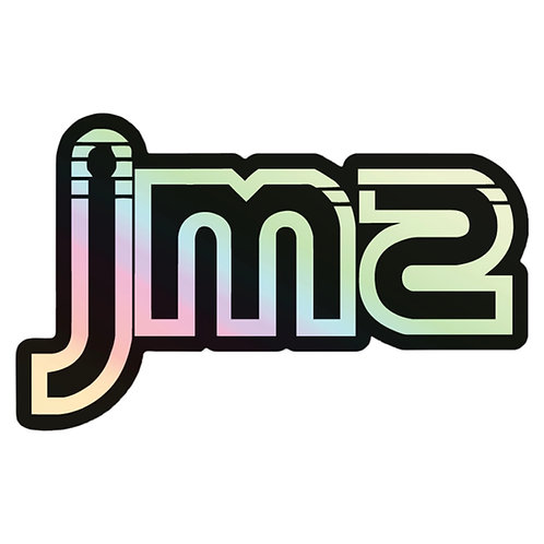 JMS HOLOGRAPHIC LOGO STICKER