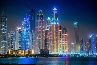 water-horizon-architecture-skyline-night