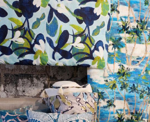 Tissu Lalie Design, collection Alohabis