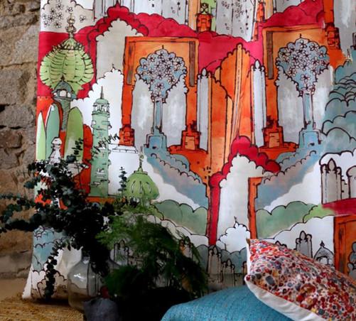 Tissu Lalie design Orient