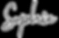 Signature de Sophie, la fondatrice de MAISON SUZY, marque française de parfums pour enfants