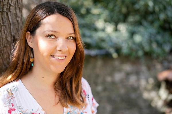 Photo portrait de Sophie DAPSENS REBEAUD, la fondatrice de MAISON SUZY