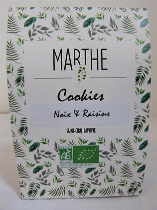 Cookie bio Noix & Raisins