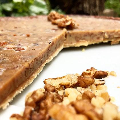 Tarte au caramel et aux noix - 6 parts