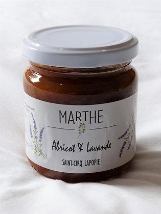 Confiture bio Abricot Lavande