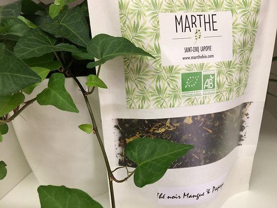 Thé noir bio Mangue & Papaye