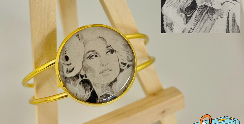 Dolly Cuff Bangle by Sarah Judd
