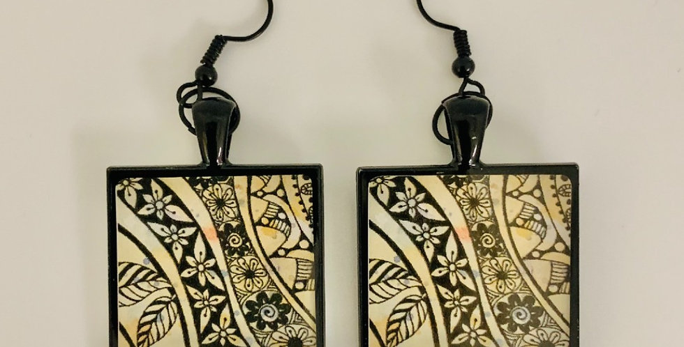 Tasse Earrings by Jan Jenkins