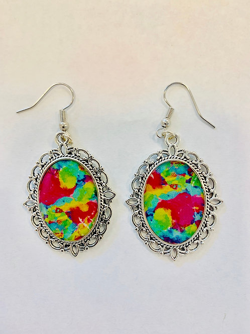 Girls Just Wanna Have Fun Dangles by QZ Design Gallery