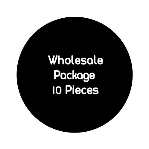 Wholesale Package: 10 pieces
