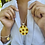 Thumbnail: Sunflower Field Large Medallion Necklace