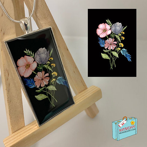 Floral Necklace by Sara's Designs