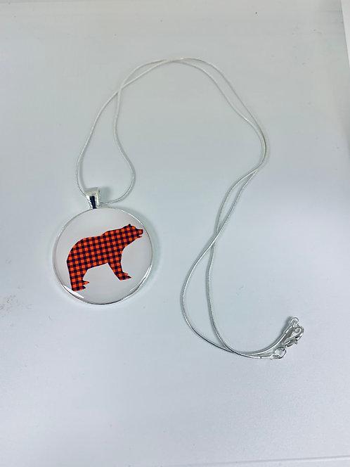 Buffalo Bear Necklace