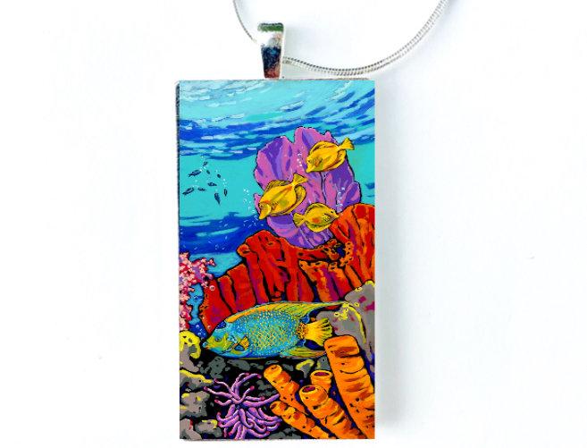 Queen of the Reef Necklace: Sally C. Evans
