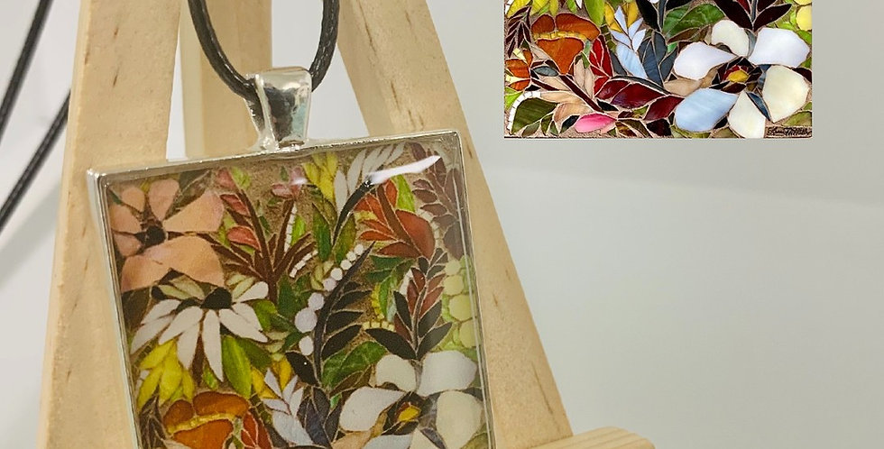 Winter Blooms Necklace by  Laura McKellar