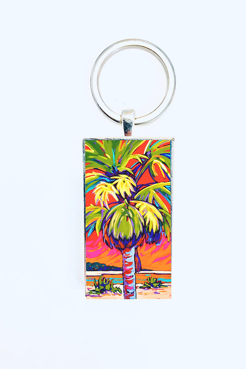 Clearwater Glow in Red Keychain: Sally C. Evans